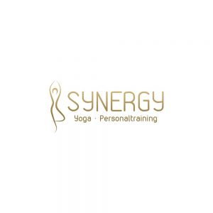 "Referenzen kreativbiene: Logo ""Synergy - Yoga & Personaltraining"""