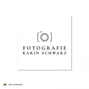 """Referenzen kreativbiene: Logo & Webdesign """"Fotografie Karin Schwarz"""""""