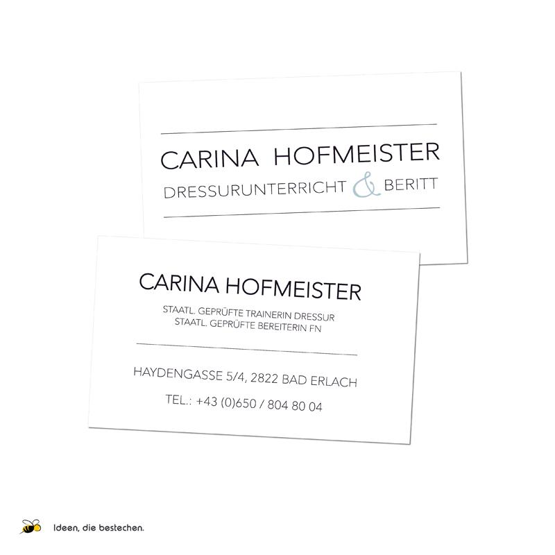Referenzen kreativbiene: Carina Hofmeister