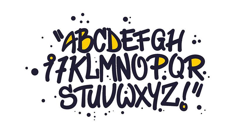 Tipp der kreativbiene: Im Webdesign kommt es auch auf die kleinen Dinge an, wie die bewusste Verwendung von Schriften.