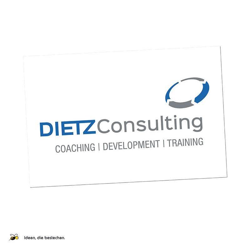 """Referenzen kreativbiene: Webdesign """"DIETZ-Consulting"""""""