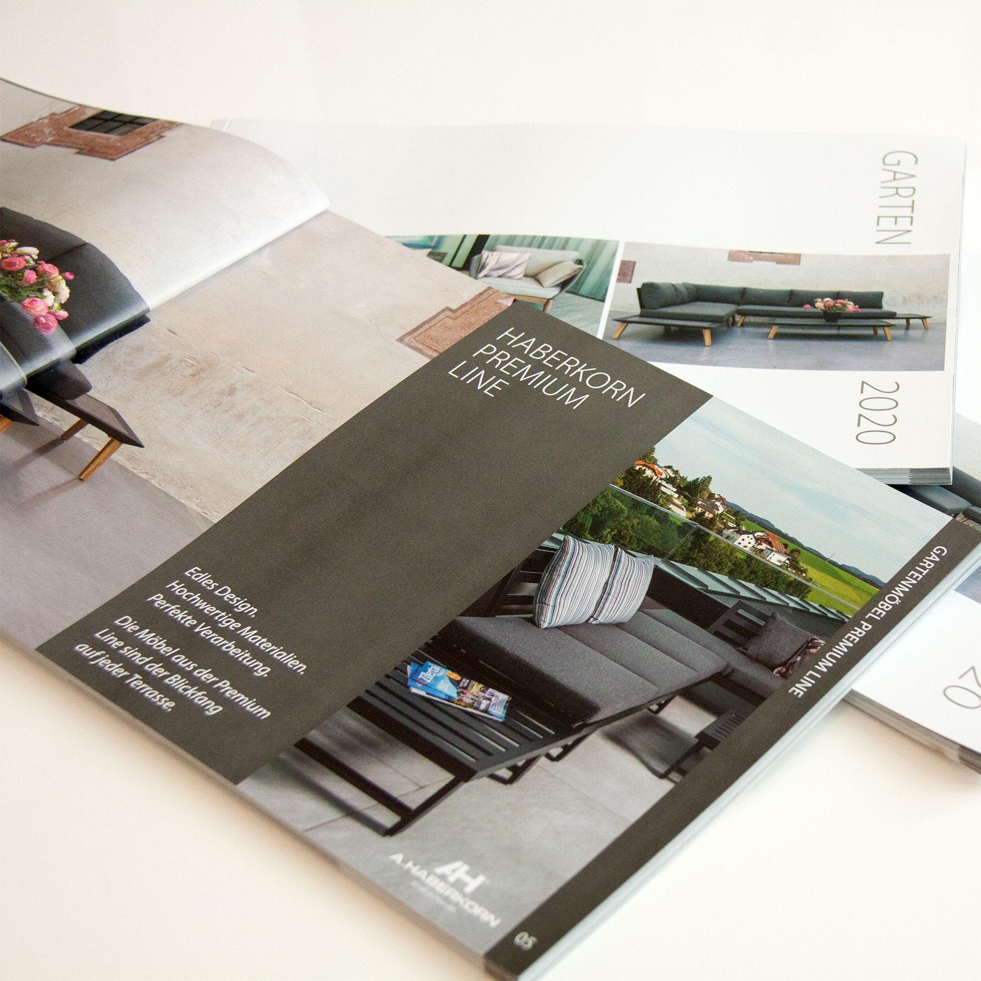 Referenzen kreativbiene: Katalog A.Haberkorn - Gartenmöbel 2020